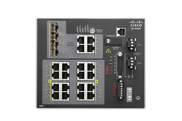 Switches Ethernet industriais